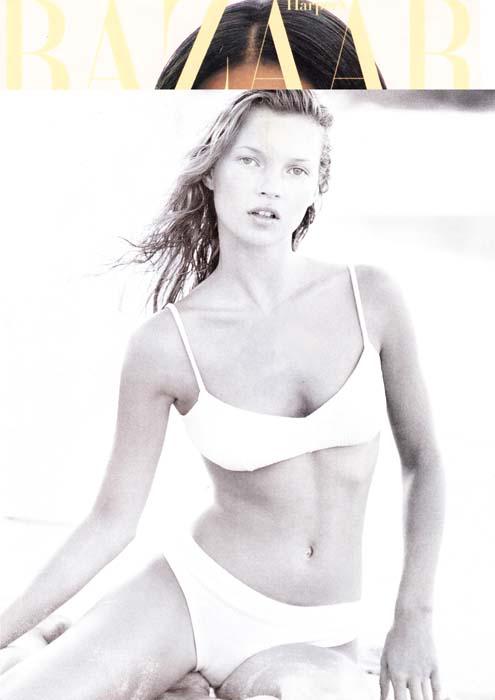 Kate Moss 1994 - Harper's Bazaar