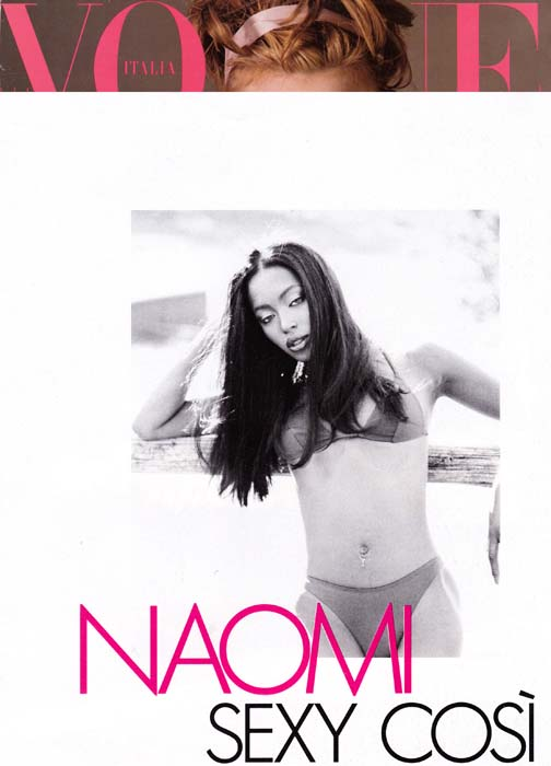 Naomi 1994 - Vogue Italia