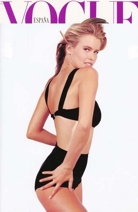 Claudia Schiffer 1990 - Vogue Spain