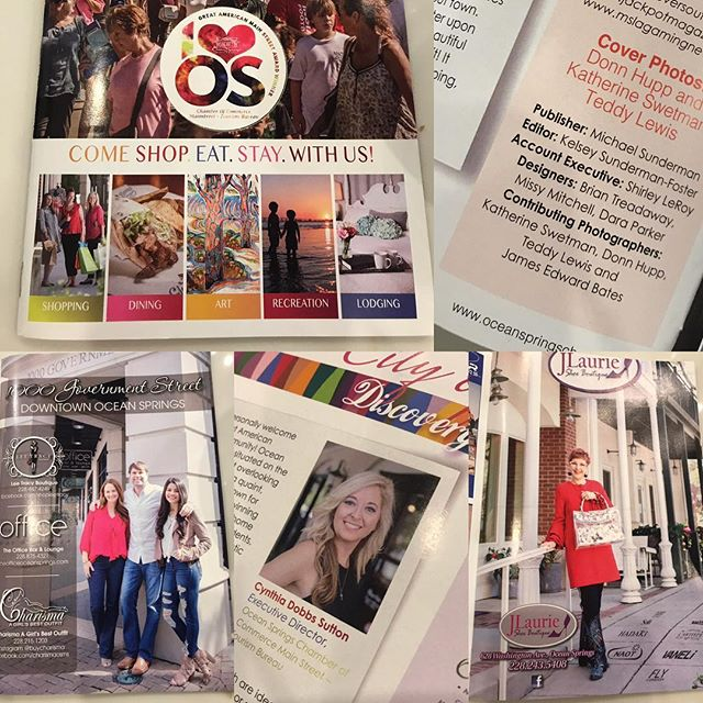 I sure LOVE it when #southmslivingmagazine and @oceanspringschamber call me for photos!! The Ocean Springs Visitors Guide looks great and I'm so honored to have been a small part of it!! #southmsliving #oceanspringsmississippi #oceanspringsms #m2media #chambervisitorsguide #oceanspringsmississippiphotographer