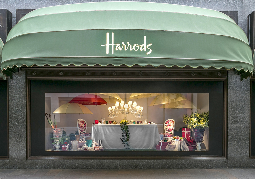 Whatever the Weather & Wedding in Colour . Harrods . London