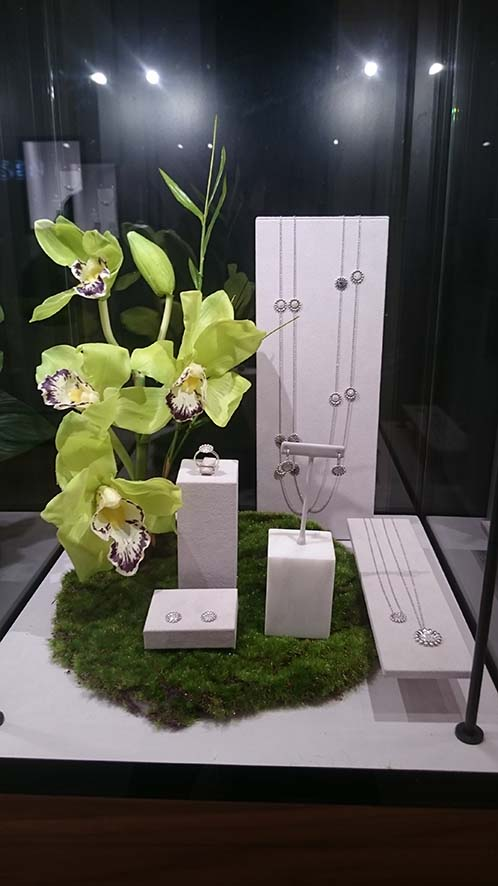 Chelsea Flower Show in stores and at the Westbury Hotel . London