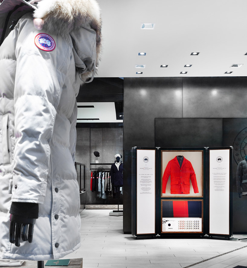 Canada Goose x Henry Poole . London