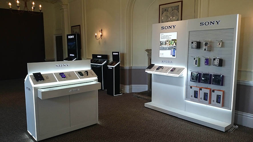 Sony Mobile . In-Store Excellence training sessions . London