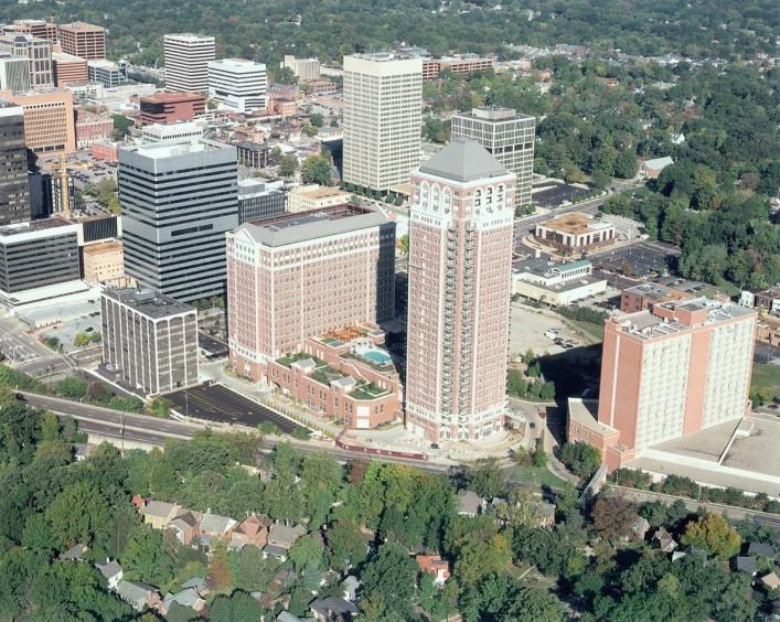 Plaza in Clayton