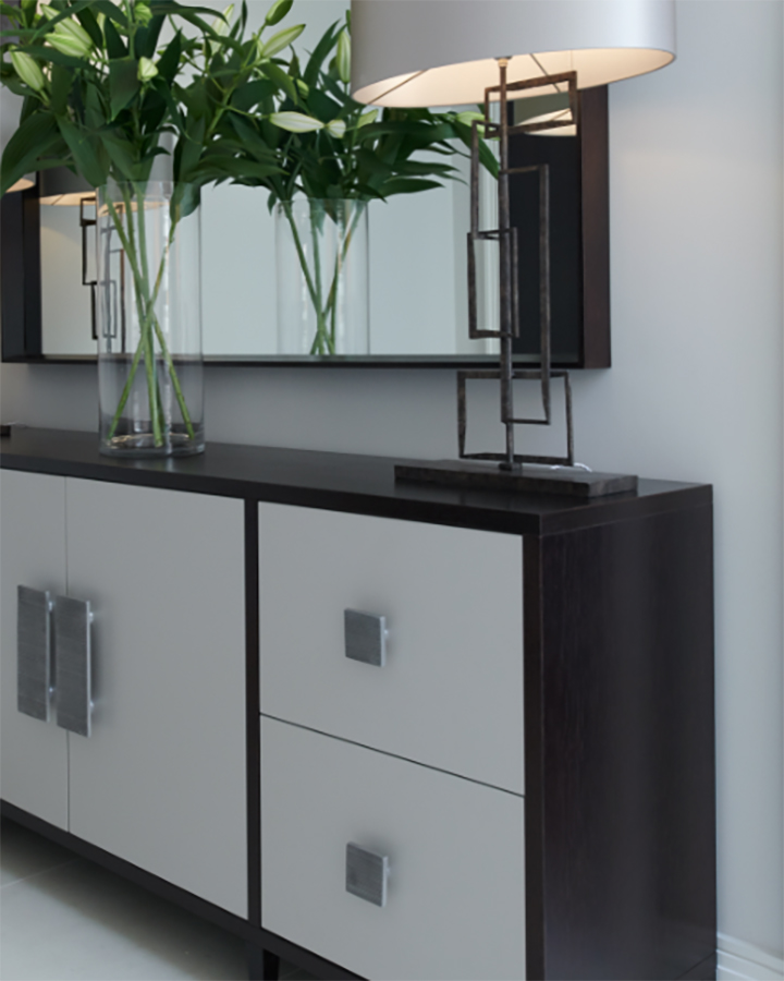 Bespoke Joinery - CWID offers a comprehensive bespoke joinery service, manufacturing both fitted and free standing specialist pieces ranging from dining, console and side tables to fitted cupboards and feature display units, all manufactured in the UK.