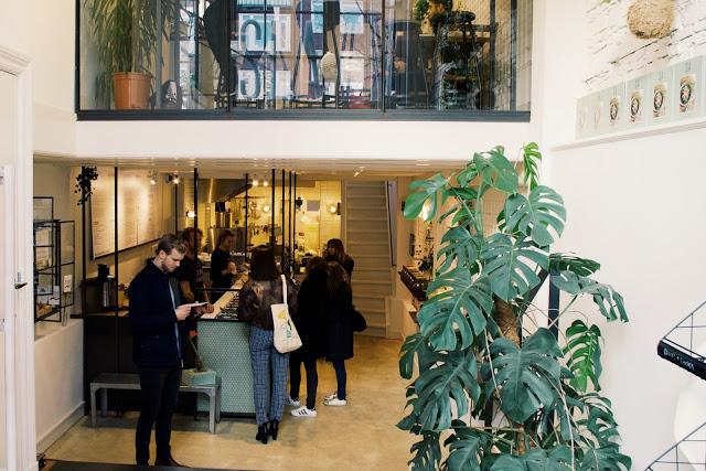 Eating healthy food at SLA Amsterdam - Westerstraat 34, 1015 MK