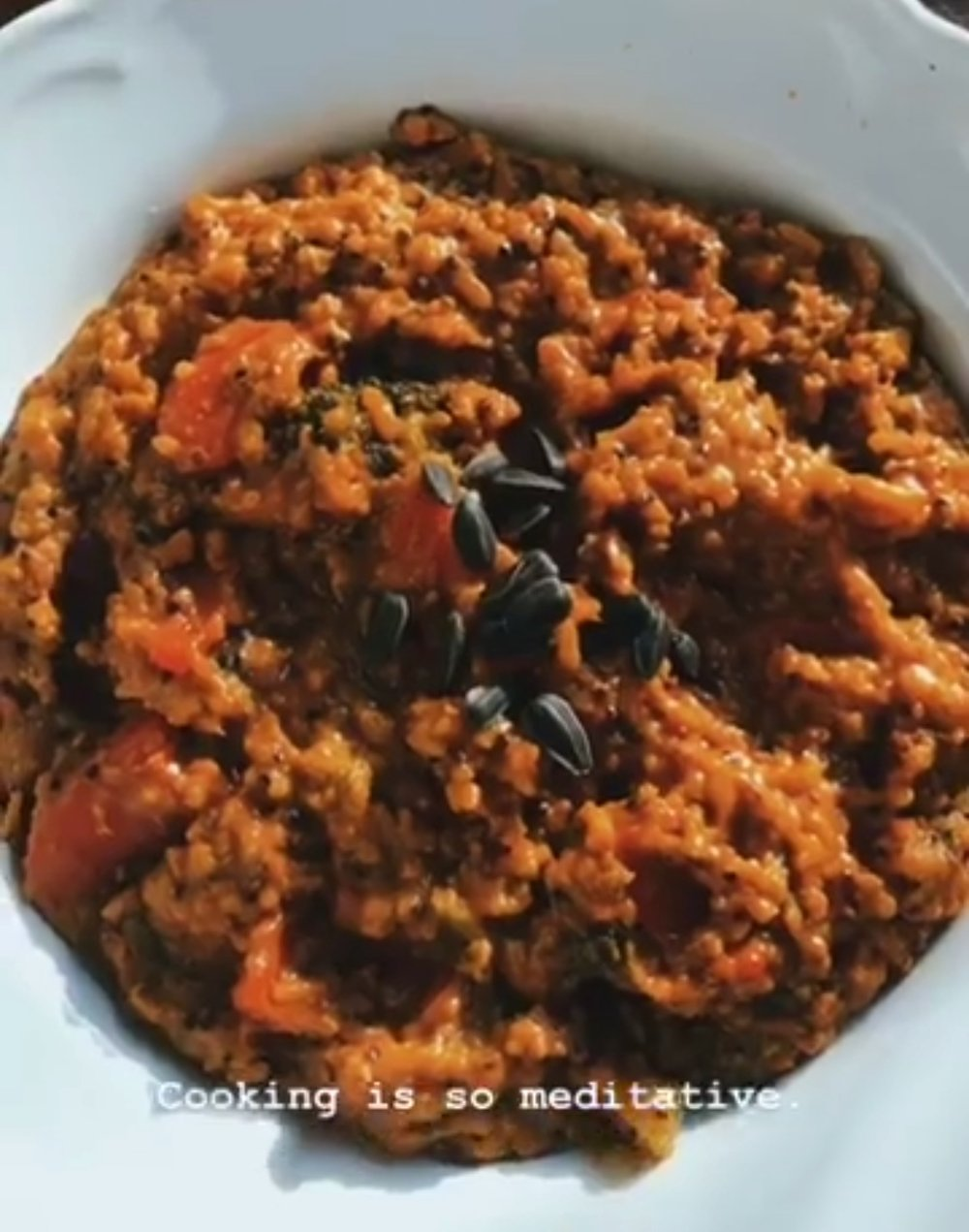 Delicious and filling vegan curry -
