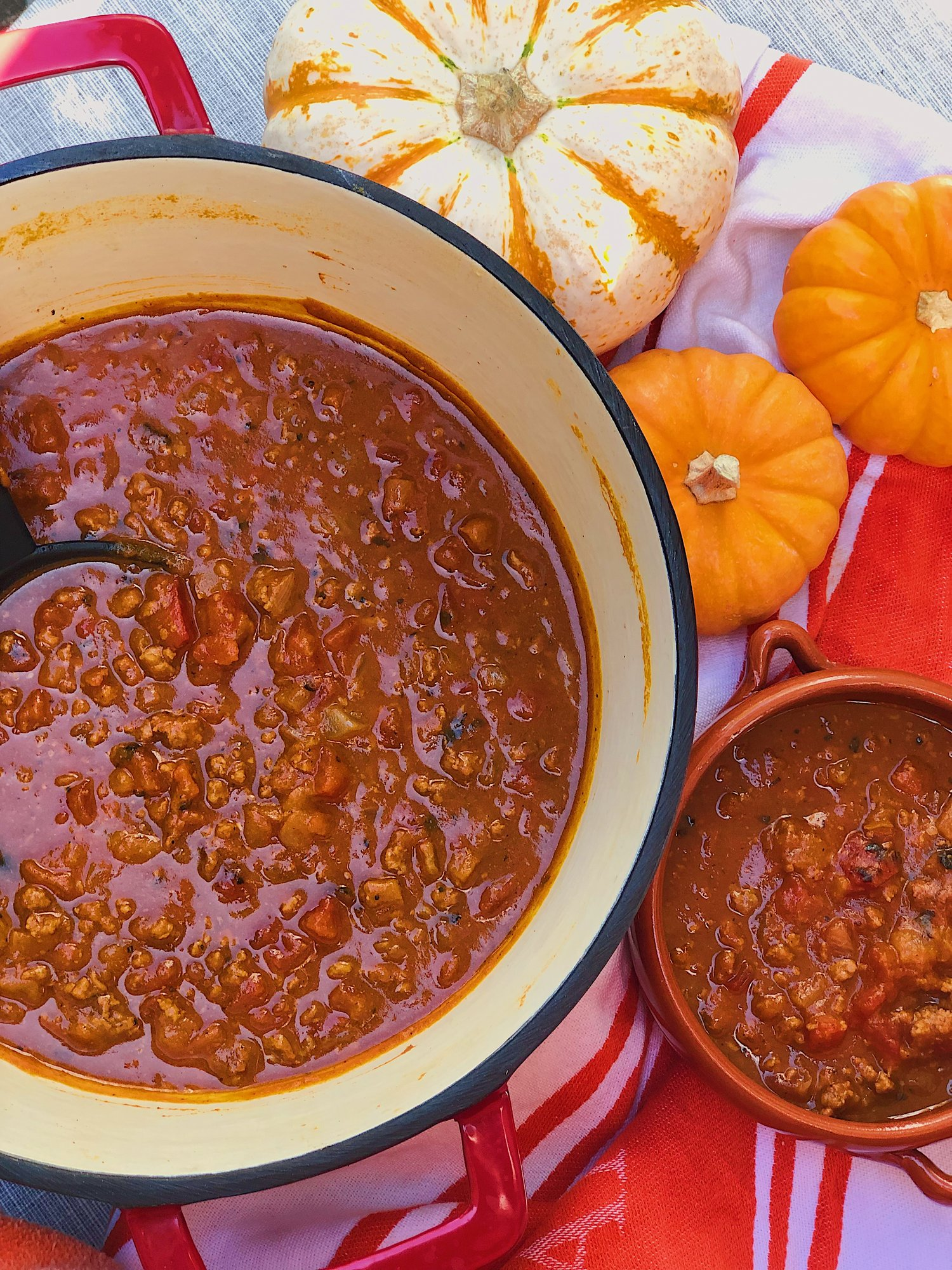 Pumpkin Chili Rockin Meals