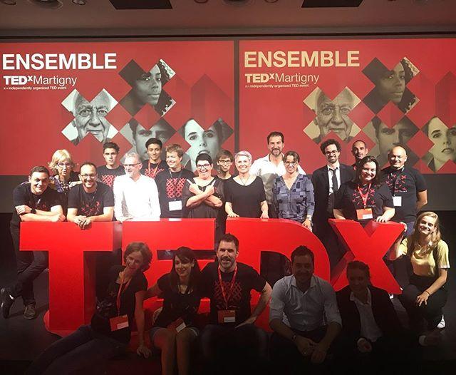 TEDxMartigny 2018, une merveilleuse édition ❌ Un immense merci à nos incroyables orateurs et à nos fidèles partenaires sans qui rien ne serait possible #businessvalais #valaisdrinkpure #uvam #imprimeriedefully #tedxmartigny #tedxmartigny2018 #neurhone #lisedelaloye #anneclaudeluisier #francoismarechal #icc