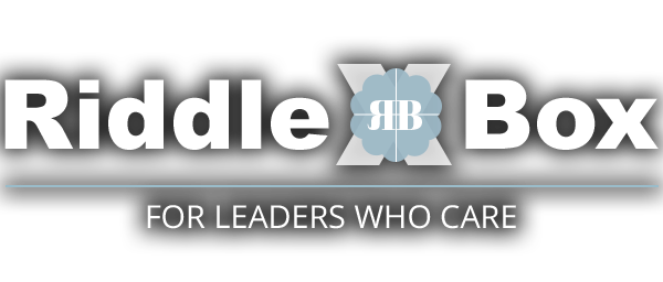 RiddleBox - For Leaders Who Care