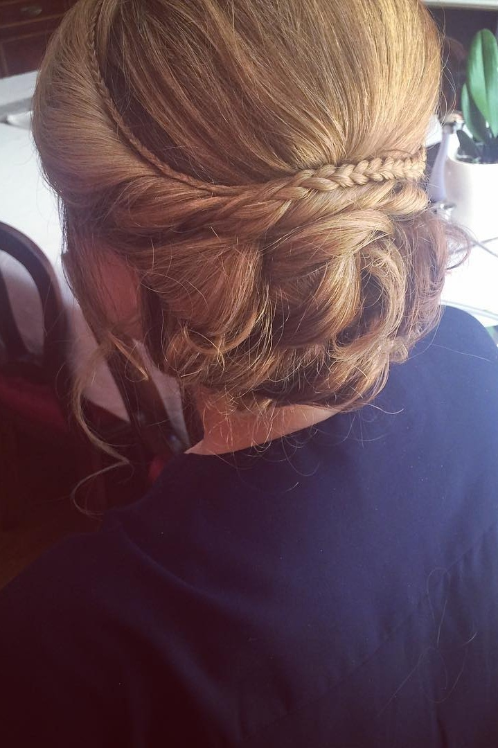 HAIR UP BEFORE GOING TO ASCOTS