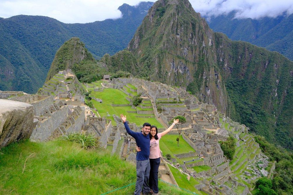 Machu Picchu conquered