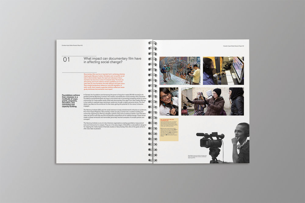 Inspirit Foundation report highlights youth and the impact documentary film making has on the world. Inspirit gives youth opportunity and trust.