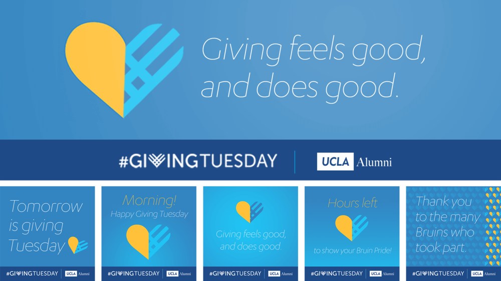 This simple, consistent, cross-platform campaign generated the largest single-day revenue for UCLA Alumni in three years.