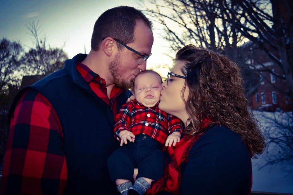 Our First Family - Parents Kayla and Travis Carter gave birth to baby Zeke on Sept 28th, 2018