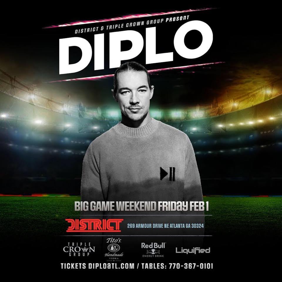 Diplo Atlanta EDM District