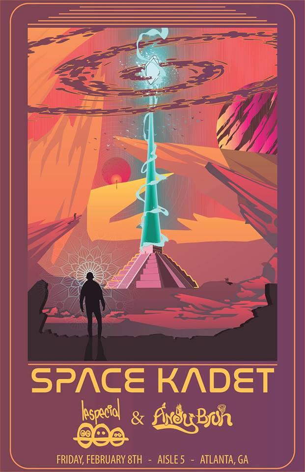 space kadet atlanta edm aisle 5