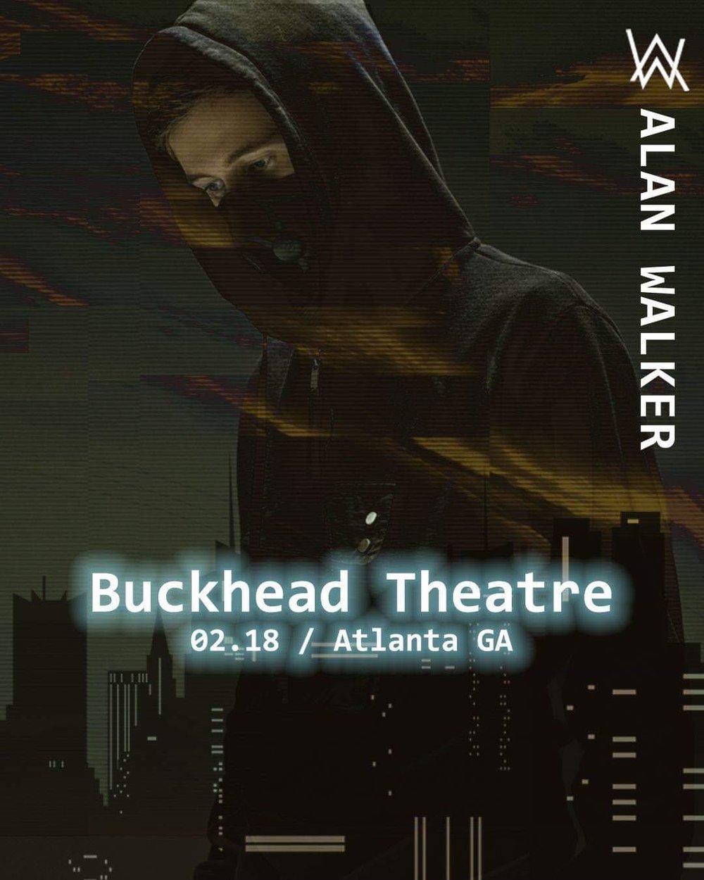 alan walker buckhead theatre liquified atlanta edm