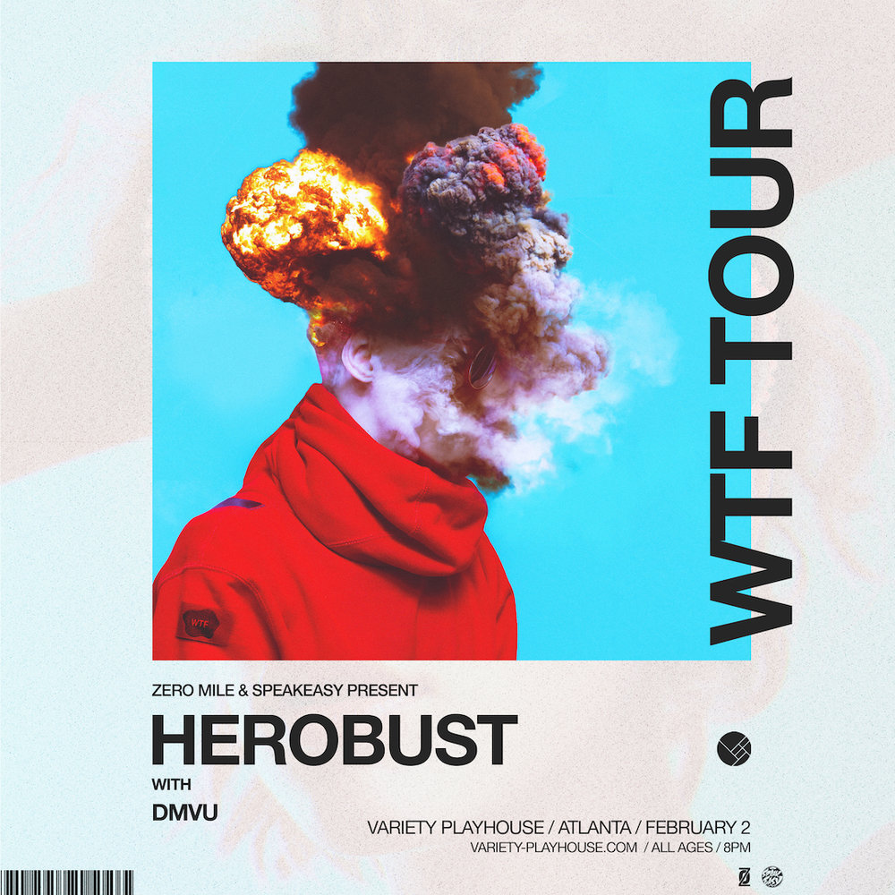 SATURDAY, FEBRUARY 2ND, 2019   VARIETY PLAYHOUSE HEROBUST WITH DMVU AND CHARK