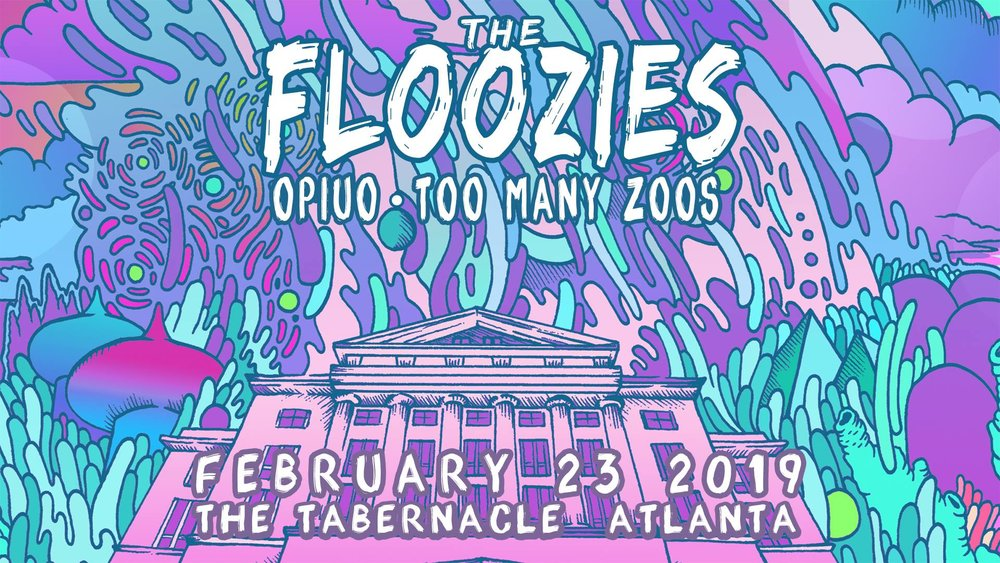 the floozies opiuo tabernacle atlanta edm