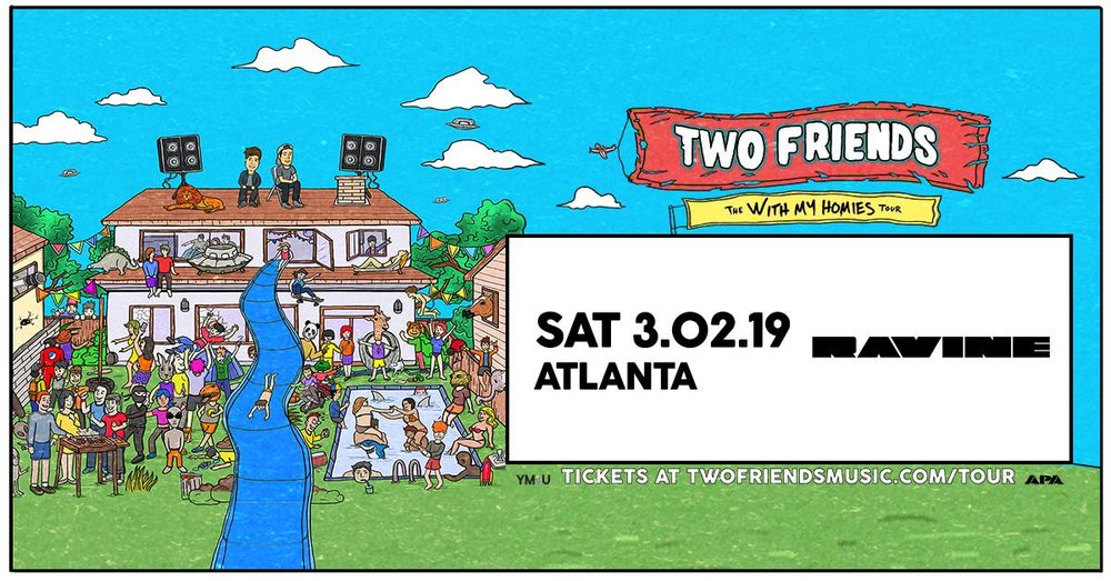 two friends ravine atlanta edm