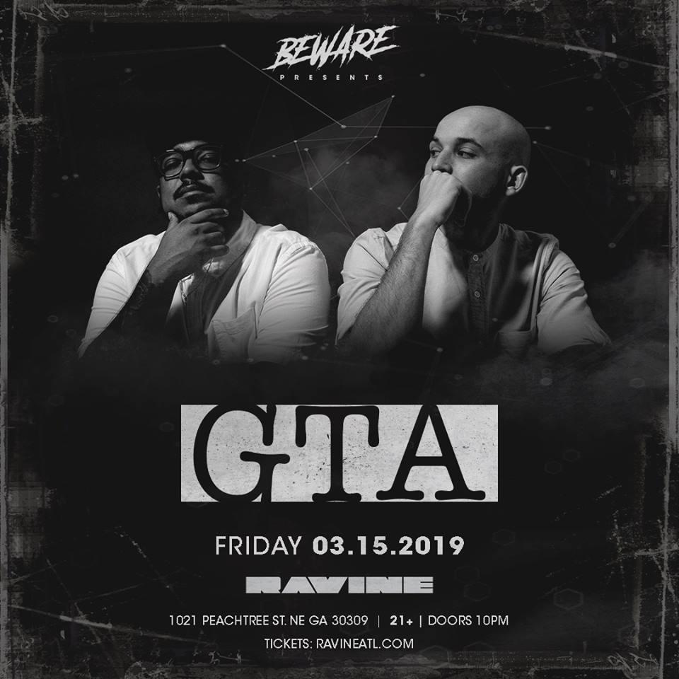 GTA Beware Presents Ravine Atlanta EDM