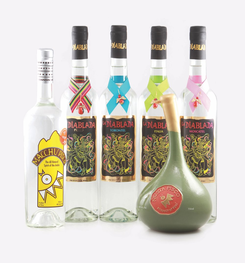 MACCHU PISCO - MELANIE & LIZZIE ASHER, CO-founders