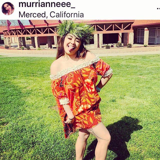 I spy @murrianneee wearing her Lokelani looks dress at the Kiki Raina this past week.  #mahaloforyoursupport #😘