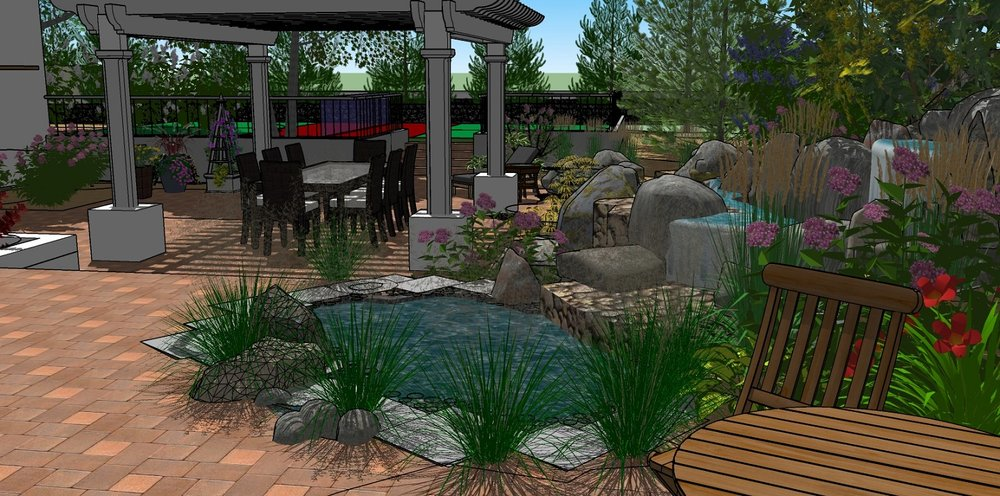Backyard landscaping Reno, NV