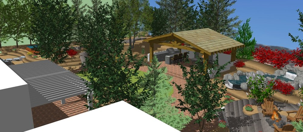 3D landscape architecture Reno, NV
