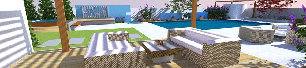 Pool designs with pergola in Reno NV