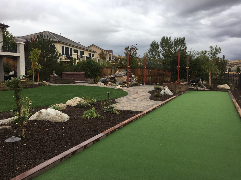 Reno, NV backyard design ideas