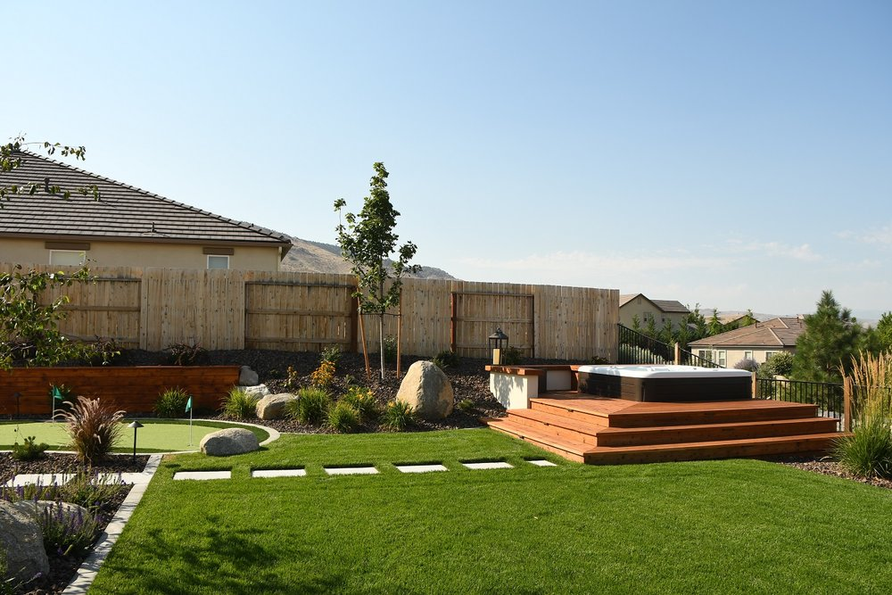 Landscapers near me in Reno NV for pool designs