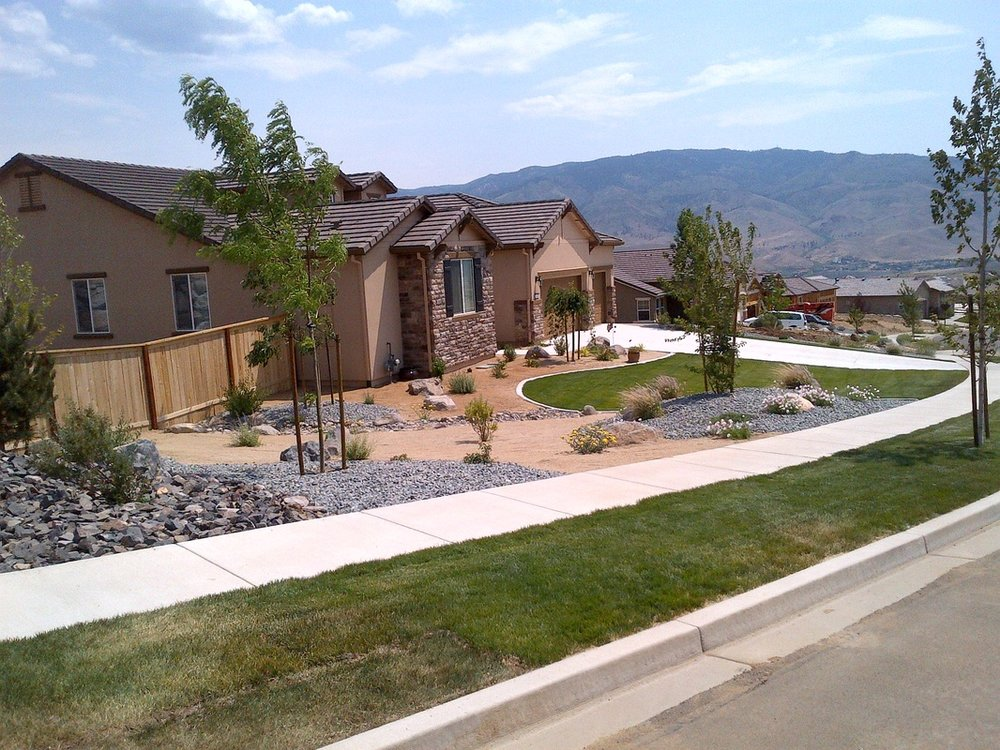 Reno, NV top landscape contractors for front yard landscaping