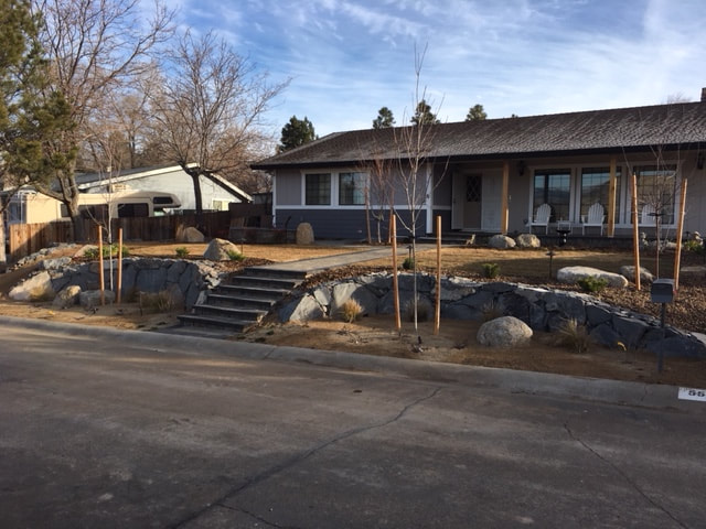 Landscapers near me in Reno, NV for front yard landscaping
