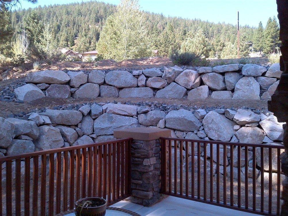 Retaining wall in Reno, NV