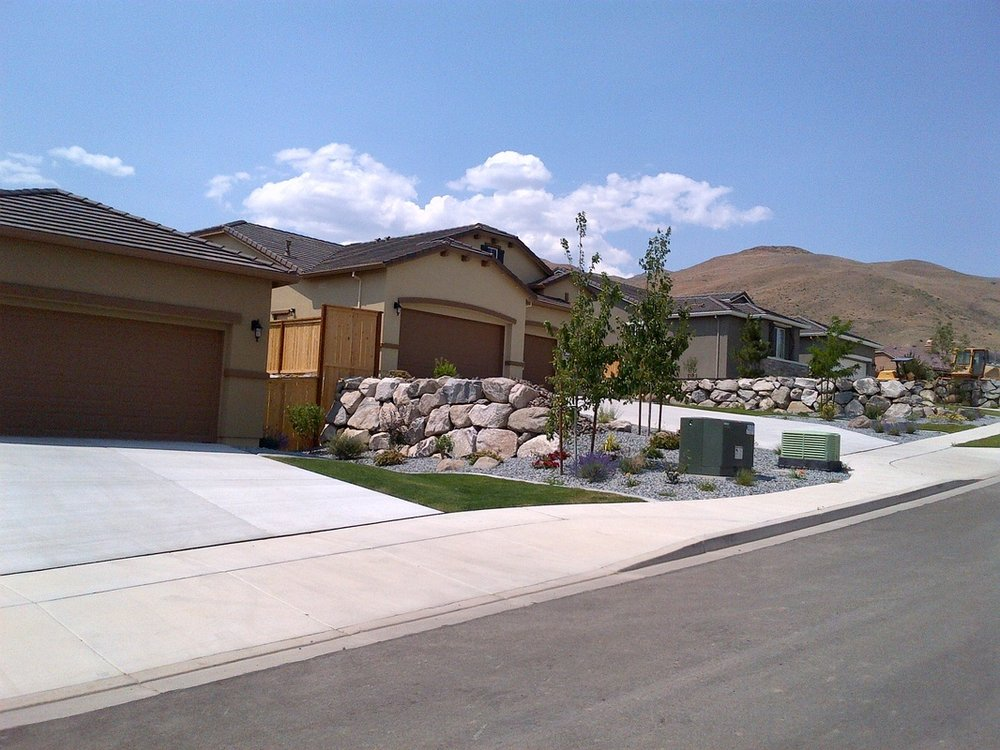 Front yard landscaping Reno NV