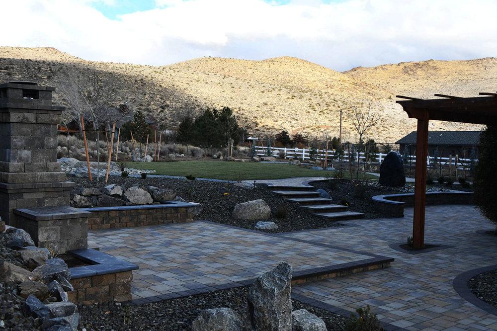 Beautiful patio pavers in Reno, NV