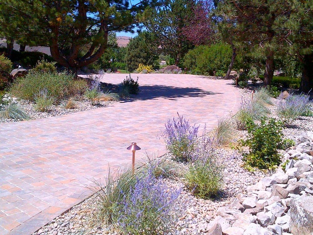 Front yard landscaping by landscapers near me in Reno, NV