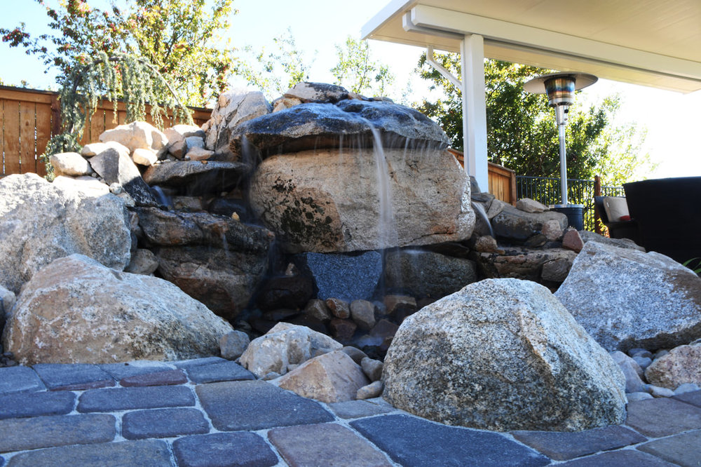 Patio pavers and water features in Reno, NV