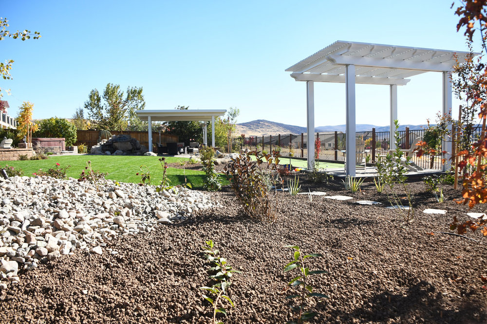 Landscaping companies near me for pergola installation in Reno, NV
