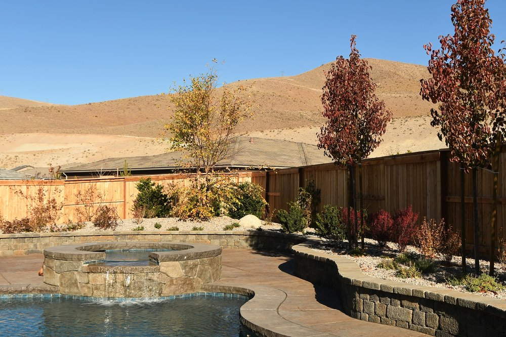 Pool and spa designs in Reno, Nevada
