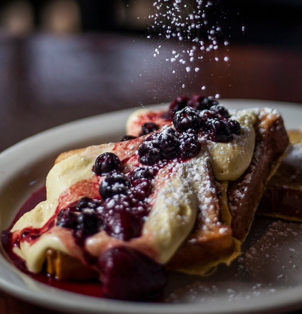 Triple Berry - Zabaione French Toast