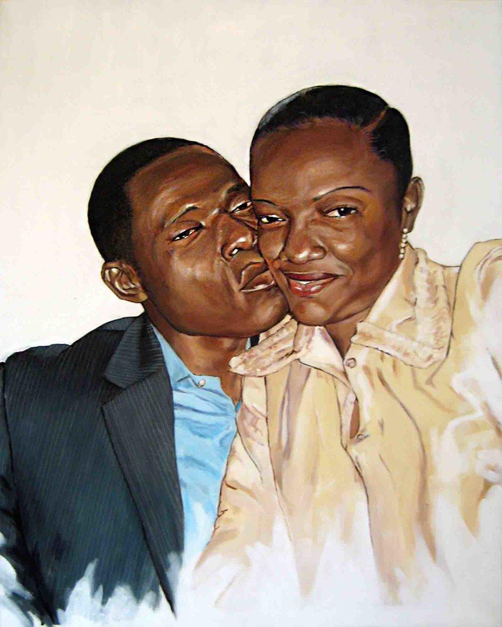 Innocent & his wife