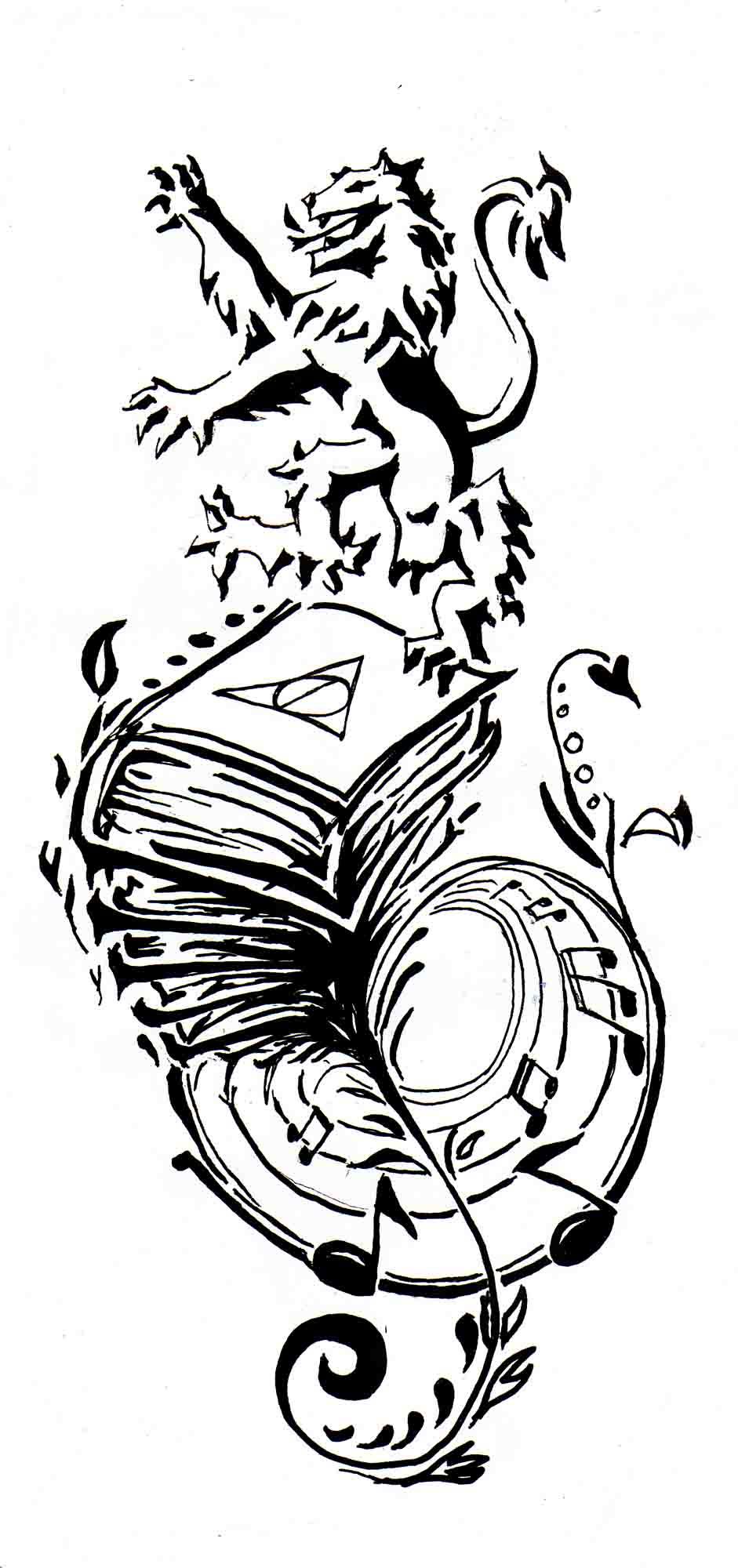 Untitled tattoo design