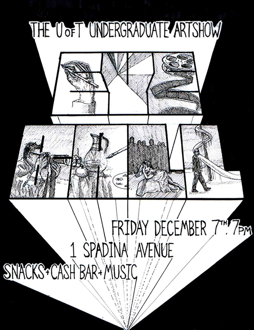 The 2007 Eyeball Artshow - alternate poster