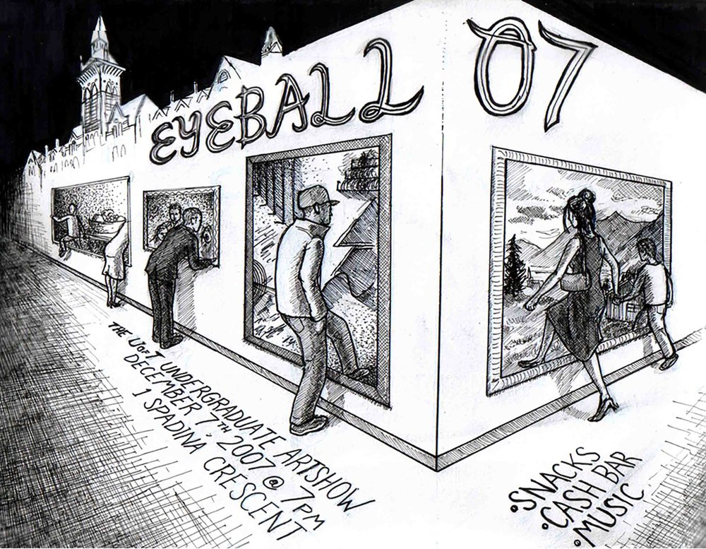 The 2007 Eyeball Artshow - poster
