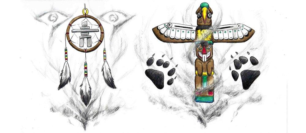 Ojibwae tattoo