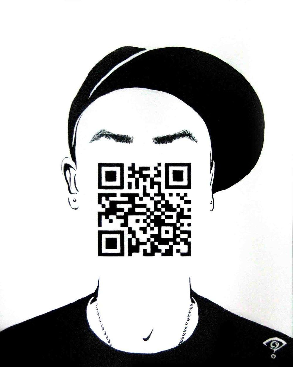 QR Code portrait